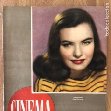 Cine: REVISTA CINEMA ENERO 1947.ELLA RAINES VAN JOHNSON. Lote 145502566