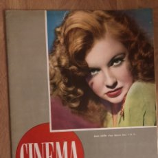 Cine: REVISTA CINEMA JULIO 1946.JOAN LESLIE MERCEDES VECINO. Lote 145516229