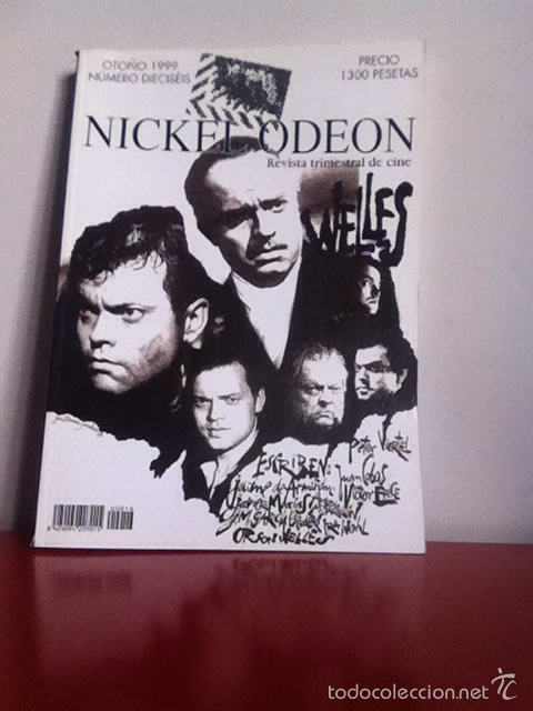 NICKEL ODEON NÚMERO 16 ORSON WELLES (Cine - Revistas - Nickel Odeon)