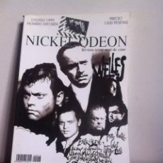 Cine: NICKEL ODEON NÚMERO 16 ORSON WELLES. Lote 145585462