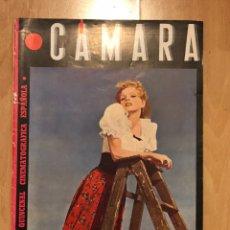 Cine: REVISTA DE CINE CÁMARA.ELLA RAINES CLAUDETTE COLBERT AMPARO RIVELLES.MAYO 1945. Lote 145585673