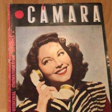 Cine: REVISTA DE CINE CÁMARA.MARLENE DIETRICH AVA GARDNER CLAUDETTE COLBERT EDGAR NEVILLE.ABRIL 1945. Lote 152826060