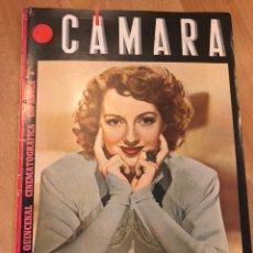 Cine: REVISTA DE CINE CÁMARA.EVELIN KEYES IMPERIO ARGENTINA LA VIDA DE CLAUDETTE COLBERT ABRIL 1945. Lote 145586621