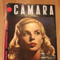 Cine: REVISTA DE CINE CÁMARA.MARY MARTIN MARLENE DIETRICH LA VIDA DE CLAUDETTE COLBERT MARZO 1945. Lote 145587036