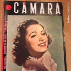 Cine: REVISTA DE CINE CÁMARA.ELEANOR PARKER LA VIDA DE CHARLOT MARIA MONTEZ FEBRERO 1945. Lote 145587864