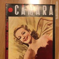 Cine: REVISTA DE CINE CÁMARA.MARLENE DIETRICH.LA VIDA CLARK GABLE.JOAN WINFIELD BOGART. JUNIO 1945. Lote 145583953