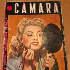 Cine: REVISTA DE CINE CÁMARA.DOLORES MORAN LA VIDA DE JOAN CRAWFORD CHARLOT.DICIEMBRE 1944. Lote 145595534