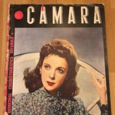 Cinéma: REVISTA DE CINE CÁMARA.IDA LUPINO LA VIDA DE MARLENE DIETRICH IMPERIO ARGENTINA.SEPTIEMBRE 1945. Lote 145598730