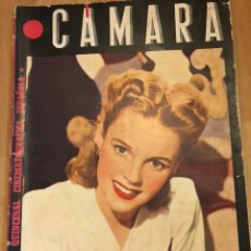 Cine: REVISTA DE CINE CÁMARA.LA VIDA DE MARLENE DIETRICH.JUDY GARLAND CONCHITA MONTES.OCTUBRE 1945. Lote 145598985