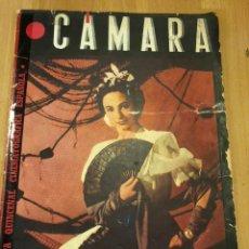 Cinéma: REVISTA DE CINE CÁMARA.NOVIEMBRE 1945.SARA MONTIEL LA VIDA DE MARLENE DIETRICH CARMEN MOLINA. Lote 145599270