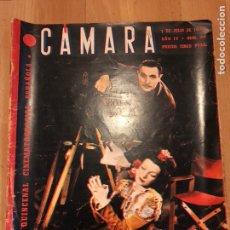 Cine: REVISTA DE CINE CÁMARA.CONCHITA MONTENEGRO MARLENE DIETRICH ANN MILLER.JULIO 1944. Lote 145599920
