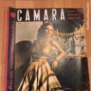 Cine: REVISTA DE CINE CÁMARA.FLORENCIA BECQUER.AMPARO RIVELLES RITA HAYWORTH GARY COOPER.JULIO 1944. Lote 145600217