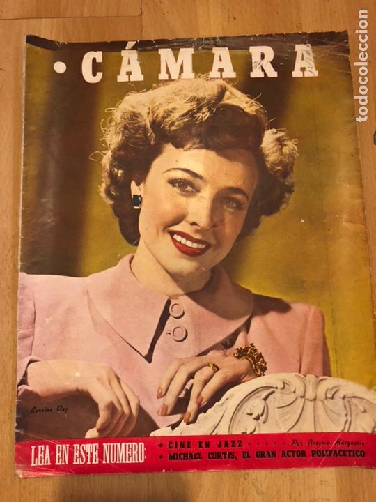 REVISTA DE CINE CÁMARA.LARAINE DAY.CHEVALIER CUGAT ANA MARISCAL.JULIO 1946 (Cine - Revistas - Cámara)