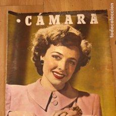 Cine: REVISTA DE CINE CÁMARA.LARAINE DAY.CHEVALIER CUGAT ANA MARISCAL.JULIO 1946. Lote 145600424