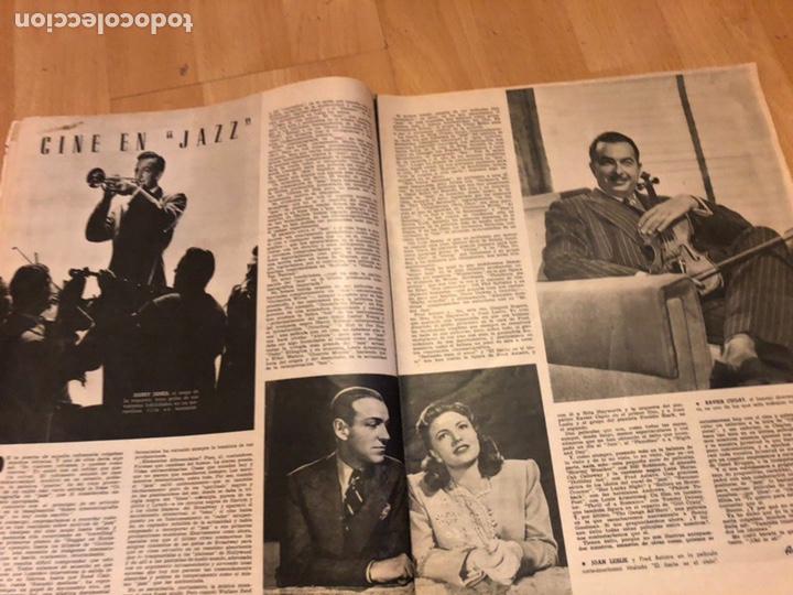 Cine: Revista de cine cámara.laraine day.chevalier cugat Ana mariscal.julio 1946 - Foto 2 - 145600424