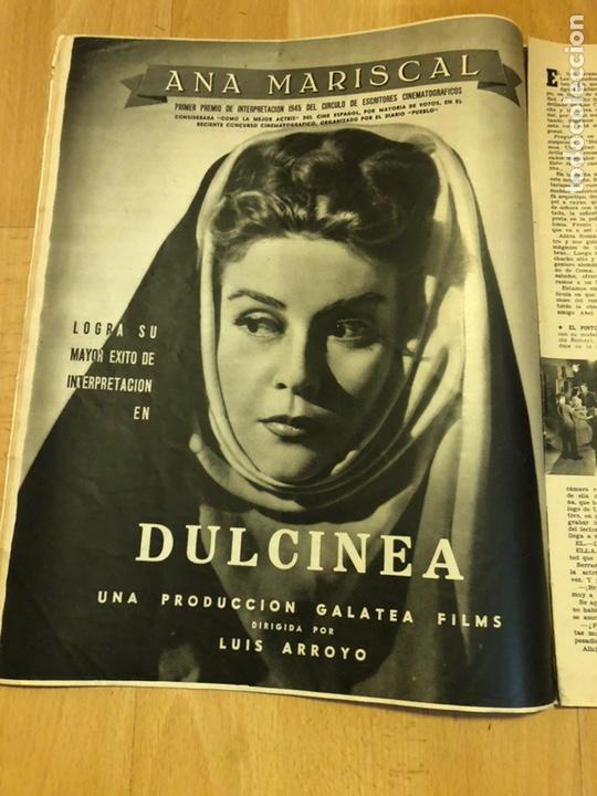 Cine: Revista de cine cámara.laraine day.chevalier cugat Ana mariscal.julio 1946 - Foto 5 - 145600424
