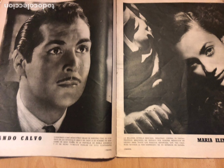 Cine: Revista de cine cámara.laraine day.chevalier cugat Ana mariscal.julio 1946 - Foto 6 - 145600424