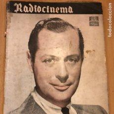 Cine: REVISTA DE CINE RADIOCINEMA.ROBERT MONTGOMERY CARMEN AMAYA ESTRELLITA CASTRO. Lote 145601777