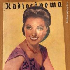 Cine: REVISTA DE CINE RADIOCINEMA.JINNY SIMMS.AMPARO RIVELLES LENA HORNE.FEBRERO 1945. Lote 145605193