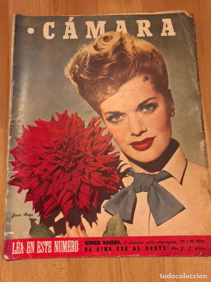 REVISTA DE CINE CÁMARA.JANIS PAIGE JUDY GARLAND LANA TURNER.JUNIO 1946 (Cine - Revistas - Cámara)