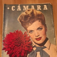 Cine: REVISTA DE CINE CÁMARA.JANIS PAIGE JUDY GARLAND LANA TURNER.JUNIO 1946. Lote 145608250