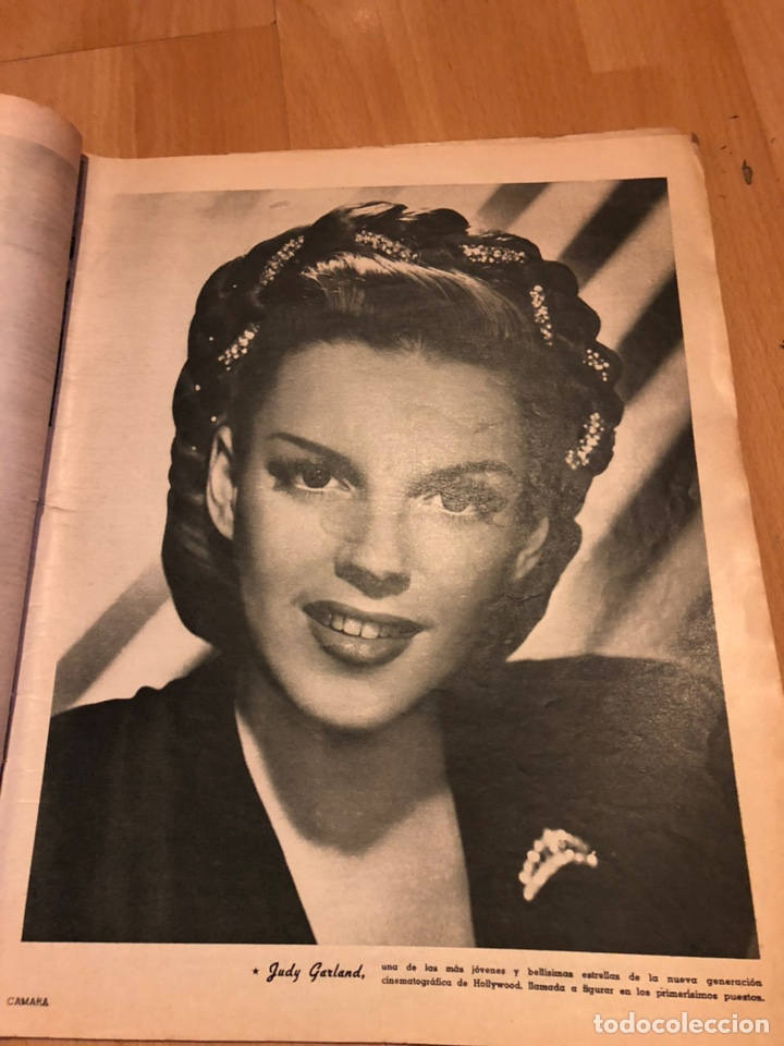 Cine: Revista de cine cámara.janis Paige judy garland lana turner.junio 1946 - Foto 2 - 145608250