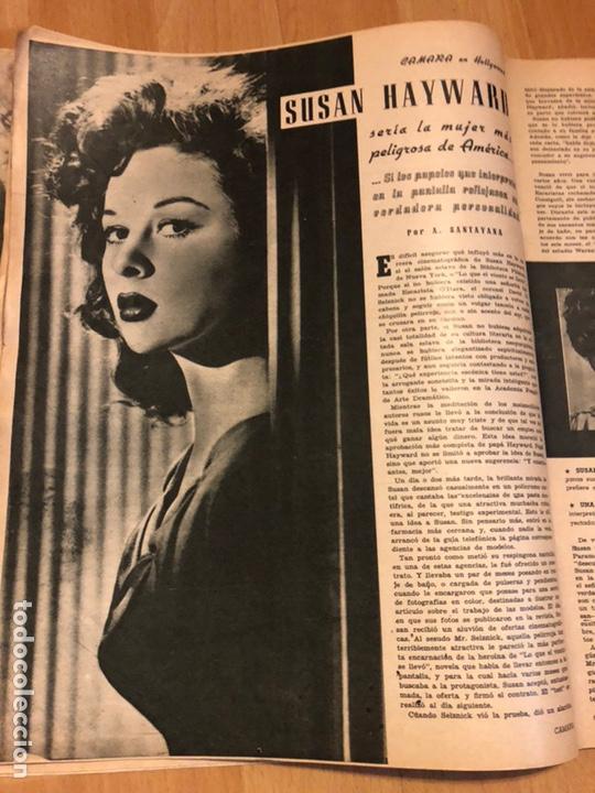 Cine: Revista de cine cámara.janis Paige judy garland lana turner.junio 1946 - Foto 3 - 145608250