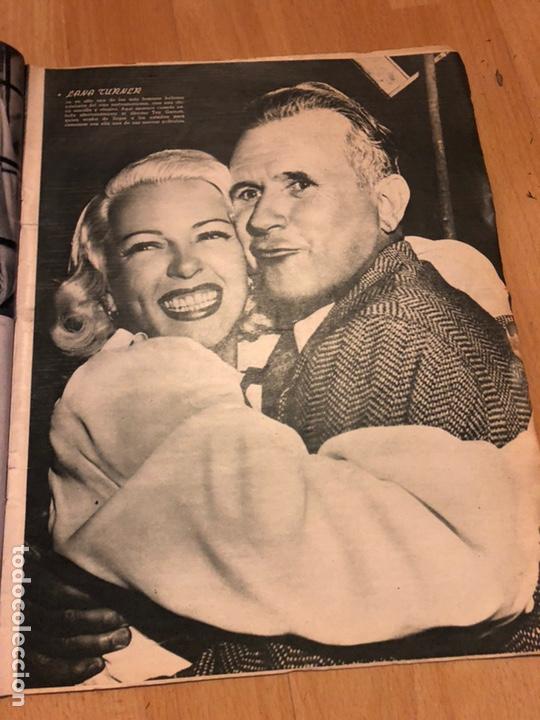 Cine: Revista de cine cámara.janis Paige judy garland lana turner.junio 1946 - Foto 4 - 145608250
