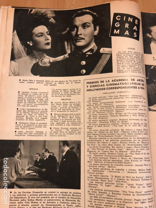 Cine: Revista de cine cámara.june lockhart.katharine hepburn.noviembre 1946 - Foto 4 - 145608824