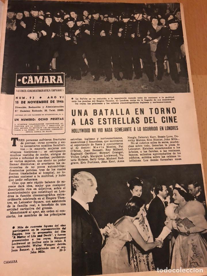 Cine: Revista de cine cámara.june lockhart.katharine hepburn.noviembre 1946 - Foto 8 - 145608824