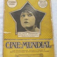 Cinema: REVISTA CINE MUNDIAL,DICIEMBRE 1920, TOMO V Nº 1 ED. POR CHALMERS PUBLISHING COMPANY, NUEVA YORK. Lote 145824770
