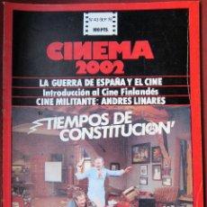 Cine: CINEMA 2002 NÚMERO 43. Lote 145847374