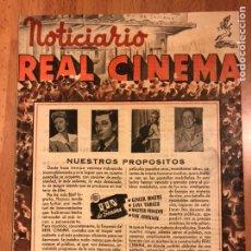 Cine: REVISTA NOTICIARIO REAL CINEMA. Lote 145865400