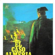Cine: EL CASO DE ALMERIA (AGUSTÍN GONZALEZ)PROGRAMA DE MANO MODERNO NO ORIGINAL. Lote 145918854
