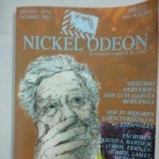 Cine: NICKEL ODEON Nº 3 - 1996 - LUIS GARCIA BERLANGA - AZCONA - FERNAN GOMEZ - BARDEM - MUÑOZ SUAY. Lote 146169546