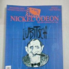 Cine: REVISTA NICKELODEON Nº 18 NICKEL ODEON . Lote 146169606