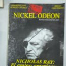 Cine: NICKEL ODEON NÚMERO 14 NICHOLAS RAY 1999. Lote 159531268