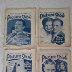 Cine: REVISTAS CINEMATOGRAFICAS AÑOS 1929 - 1930. Lote 146226866