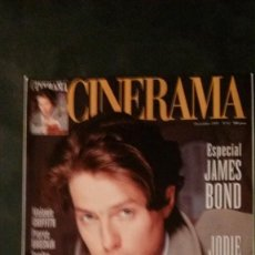 Cine: CINERAMA Nº 42-1995-ROMY SCHNEIDER-JAMES BOND-URSULA ANDRESS-MELANIE GRIFFITH-HUGH GRANT. Lote 146264862