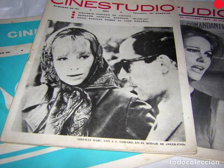 Cine: CINESTUDIO DE AÑOS 60 3 REVISTAS. NºS, 62, 63/64 Y 66 - Foto 2 - 146266782