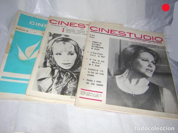 Cine: CINESTUDIO DE AÑOS 60 3 REVISTAS. NºS, 62, 63/64 Y 66 - Foto 3 - 146266782