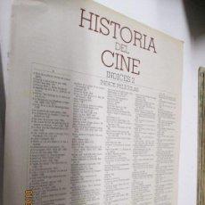Cine: LA GRAN HISTORIA DEL CINE INDICES 2 DE TERENCI MOIX . Lote 146309250