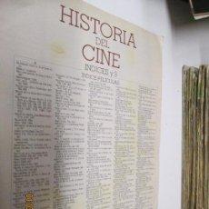 Cine: LA GRAN HISTORIA DEL CINE CAPITULO INDICES Y 3 DE TERENCI MOIX . Lote 146309314