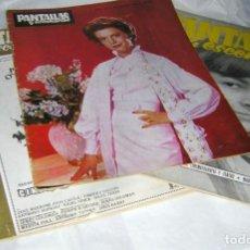 Cine: PANTALLAS Y ESCENARIOS REVISTAS DE CINE AÑOS, 60/70. Lote 146405270