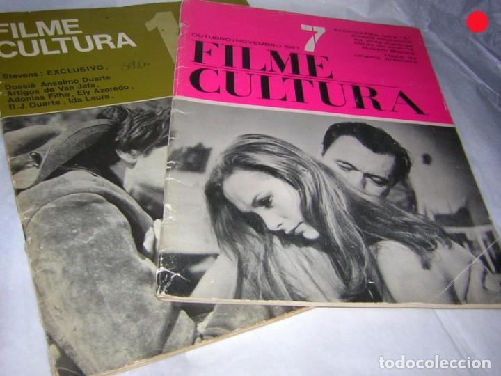Cine: FILME CULTURA, REVISTAS DE CINE ESPECIALIZADAS DE BRASIL, AÑOS 60/70 - Foto 2 - 146410250