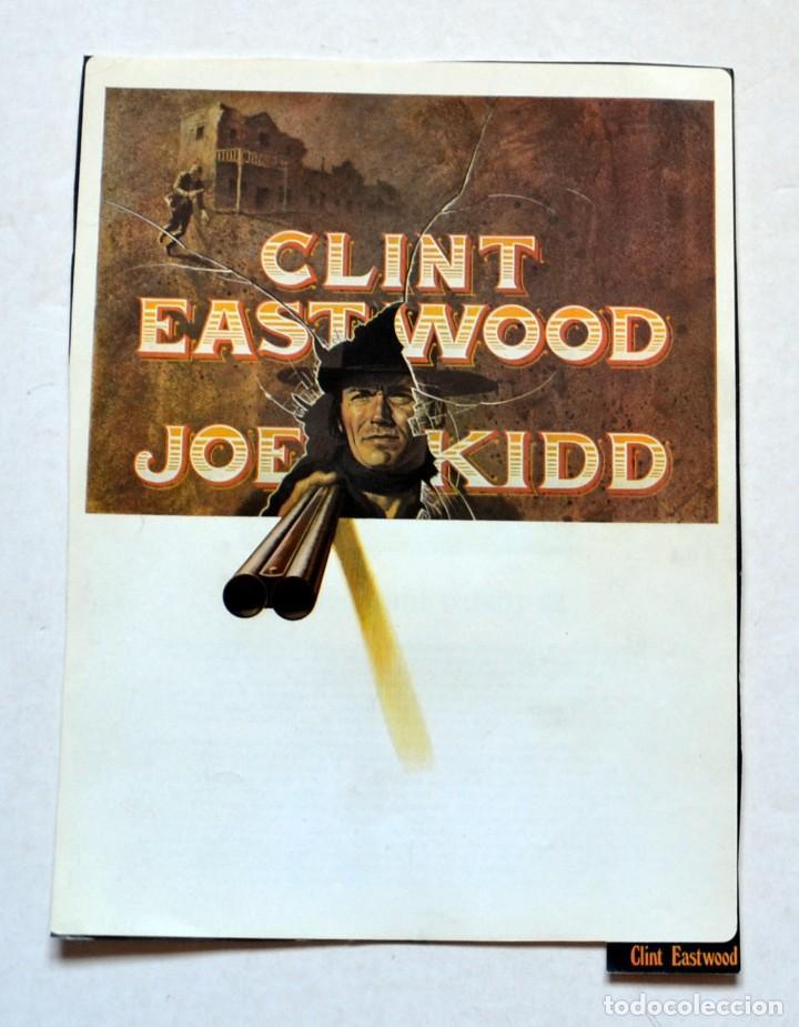 LAMINA DE REVISTA AÑOS 80: CLINT EASTWOOD (Cine - Revistas - Colección ídolos del cine)