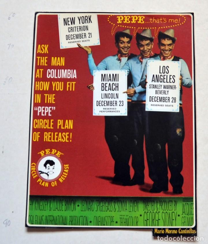 LAMINA DE REVISTA AÑOS 80: MARIO MORENO CANTINFLAS (Cine - Revistas - Colección ídolos del cine)
