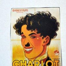 Cine: LAMINA DE REVISTA AÑOS 80: CHARLIE CHAPLIN. Lote 146523150