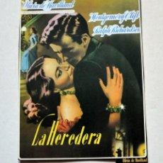 Cine: LAMINA DE REVISTA AÑOS 80: OLIVIA DE HAVILLAND. Lote 146524142