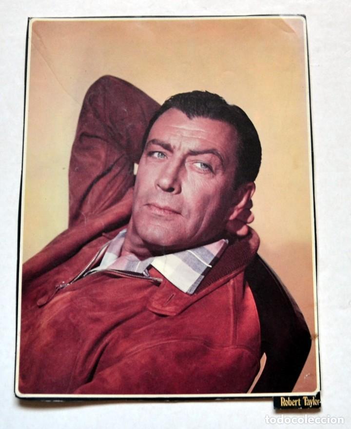 LAMINA DE REVISTA AÑOS 80: ROBERT TAYLOR (Cine - Revistas - Colección ídolos del cine)